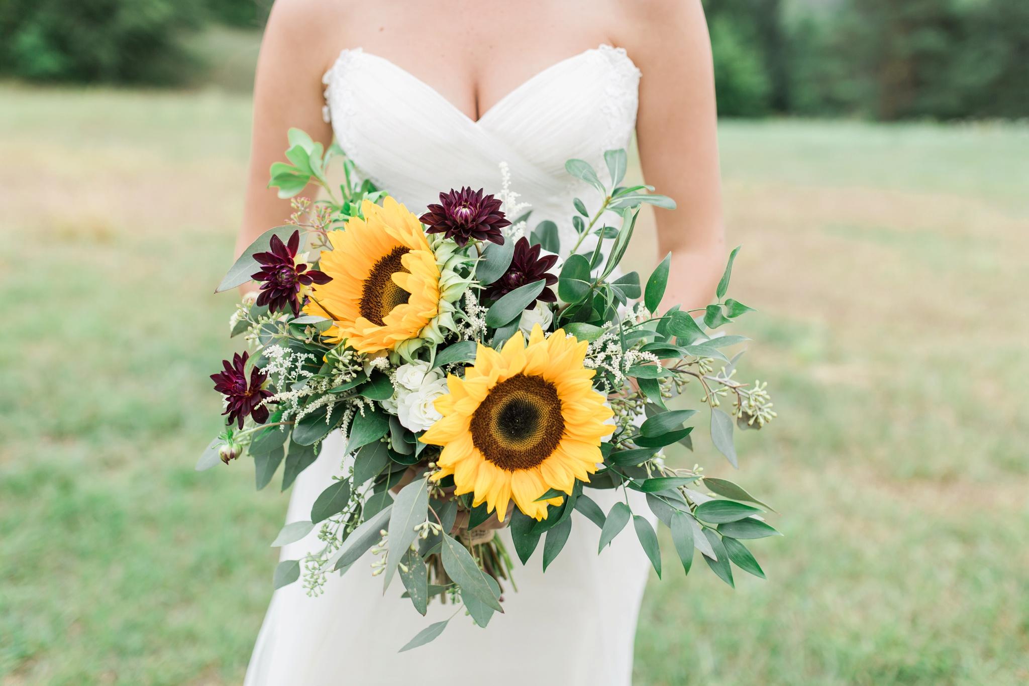 Mint Floral Co. Sunflower Bouquet
