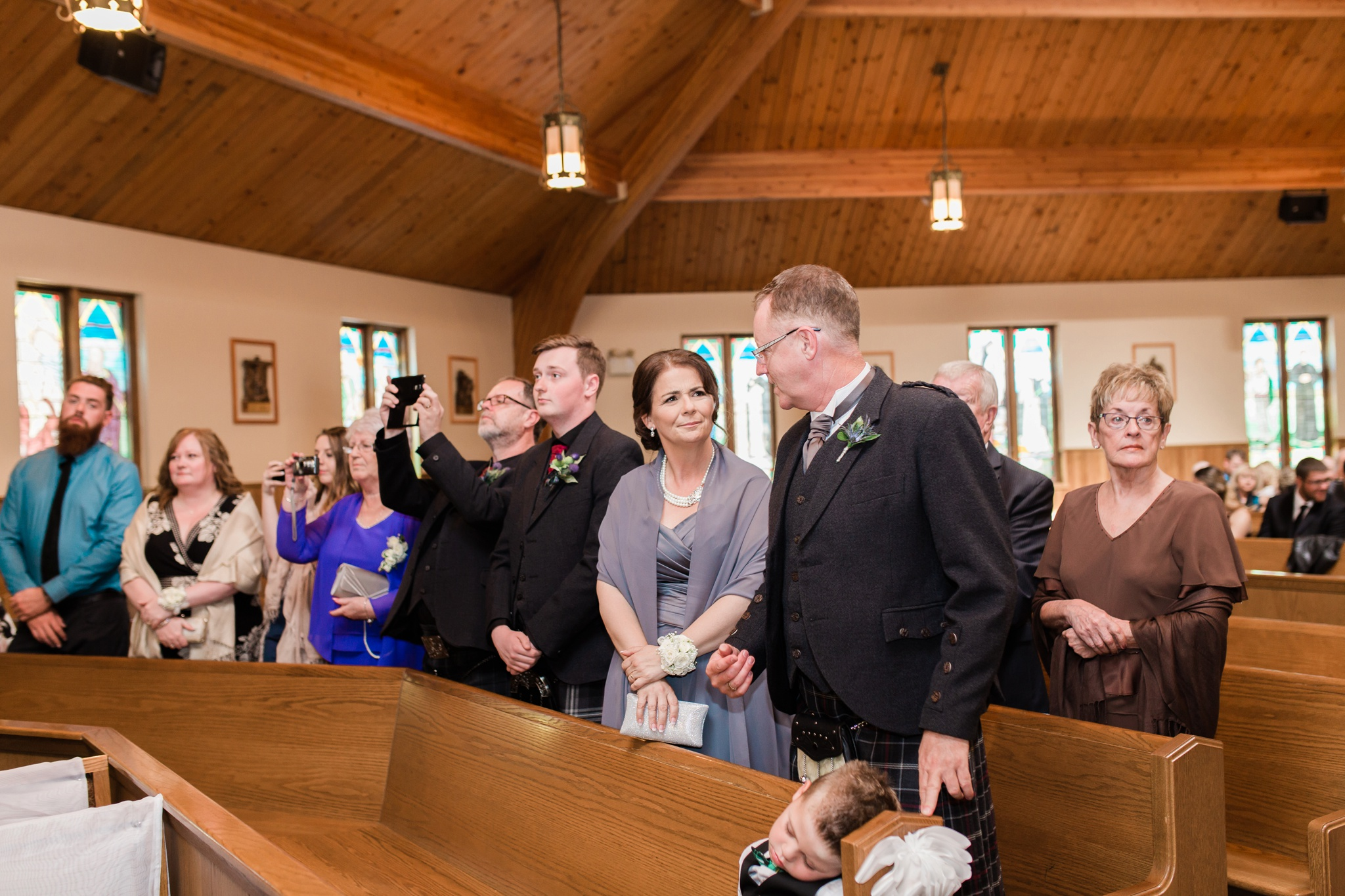 Fall Wedding, Durham Region Photographer