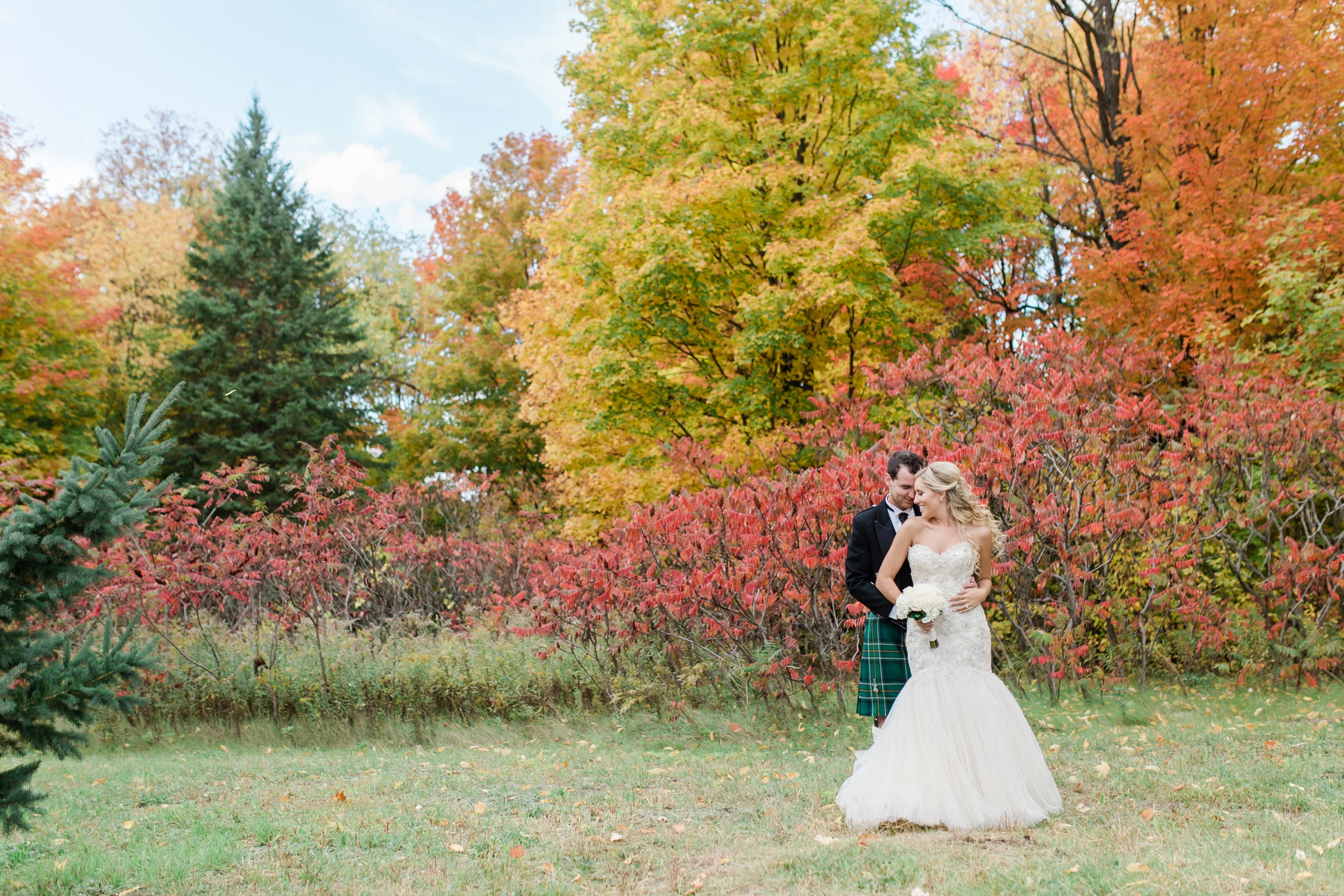 Fall Wedding, Outdoor Wedding