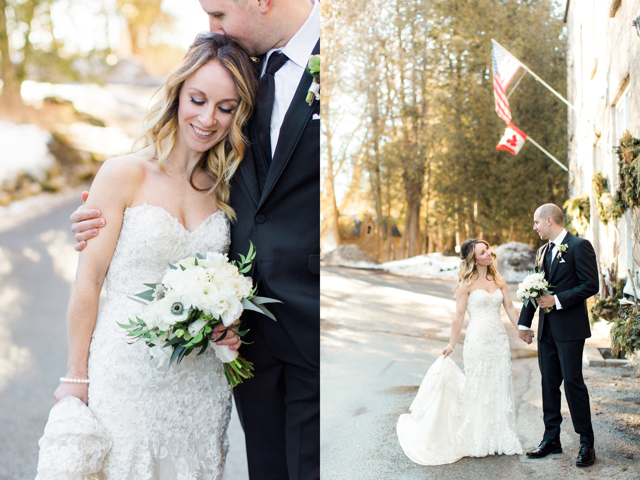 Toronto film photographer, fine art wedding photographer, winter wedding