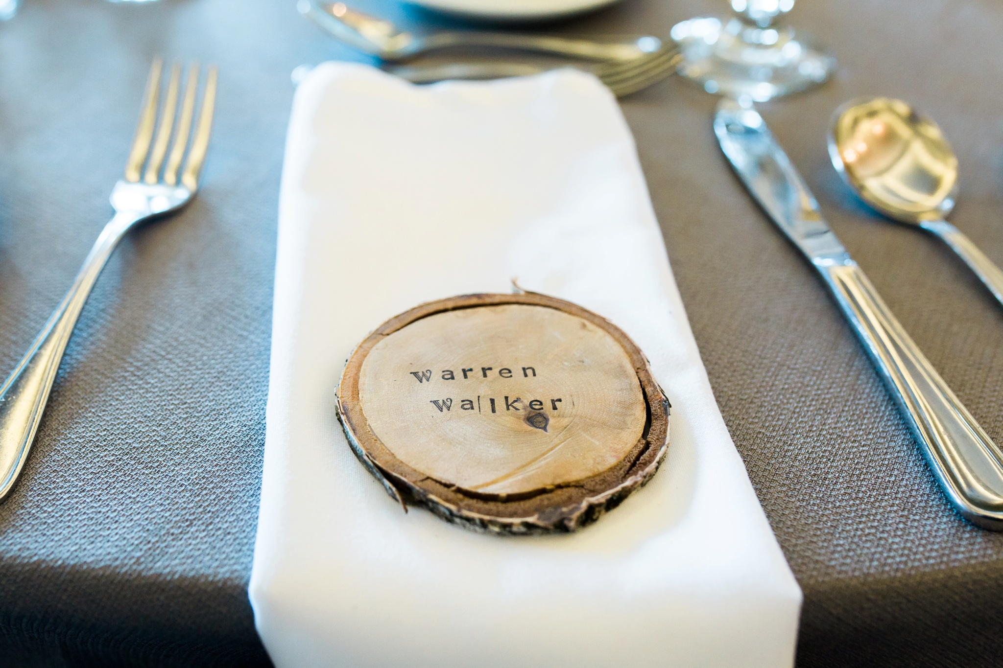 Wooden Wedding Favours