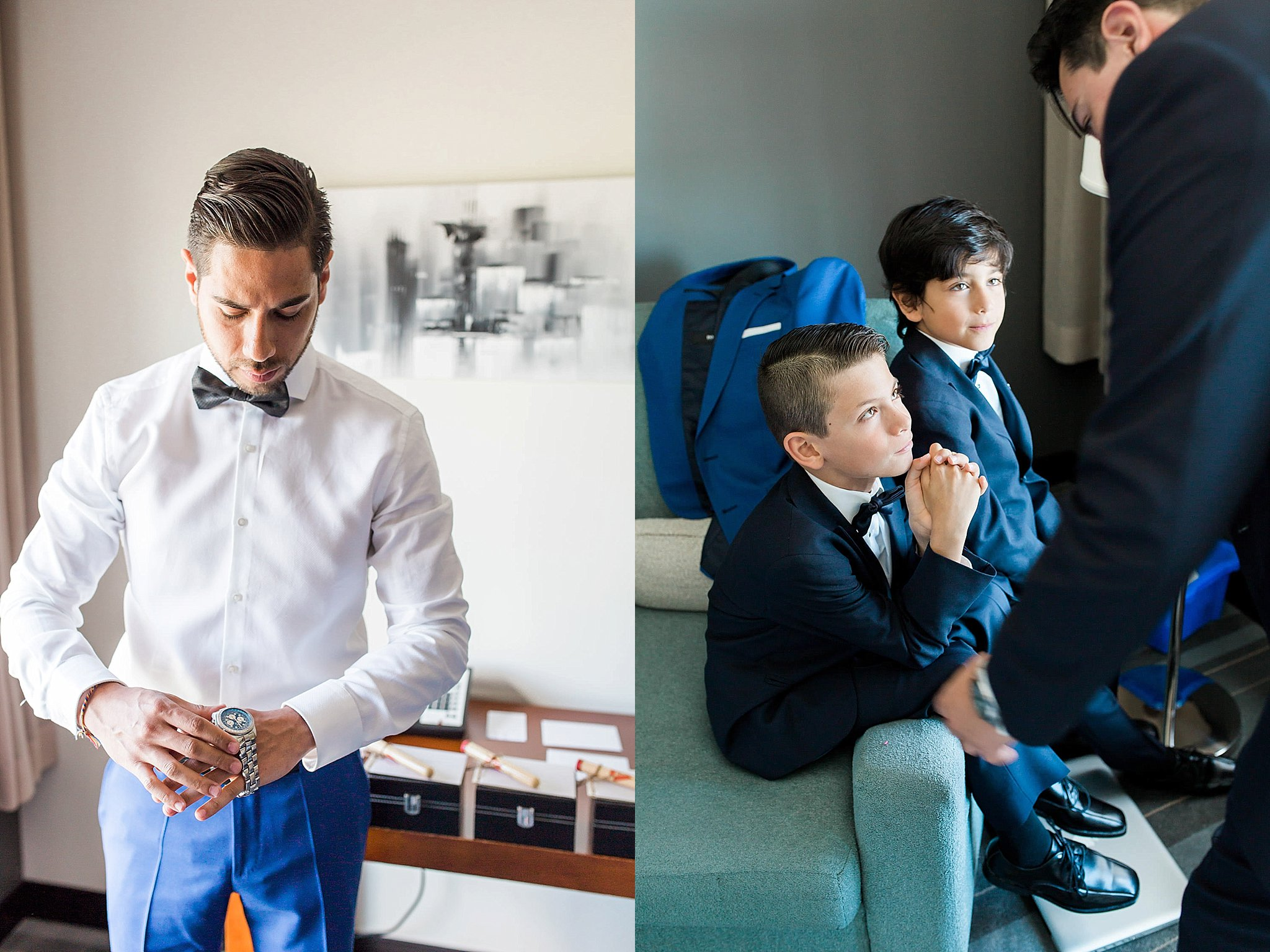 Doctors House Wedding, Blue Suit, Toronto Wedding Photographer, Durham Region Film Photographer